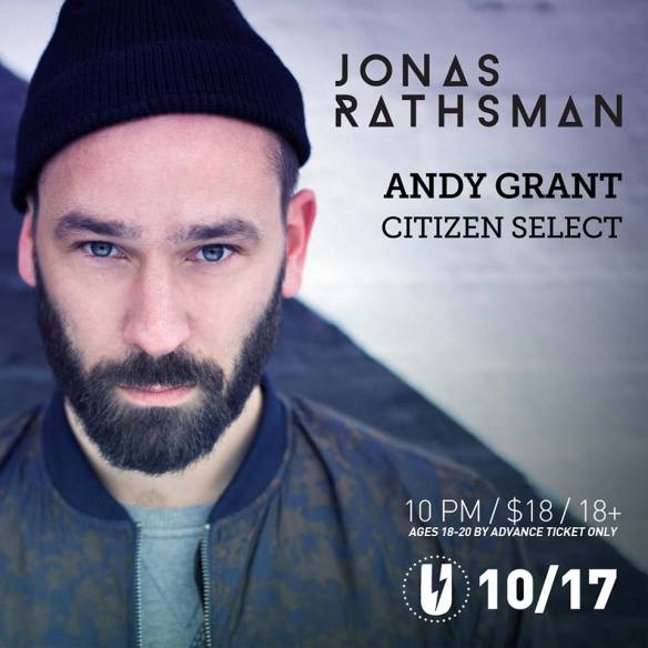 Jonas Rathsman with Andy Grant, Citizen Select