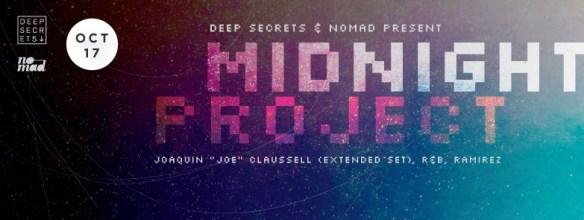 "Midnight Project feat. Joaquin ""Joe"" Claussell, Ramirez and R&B at Secret Location"