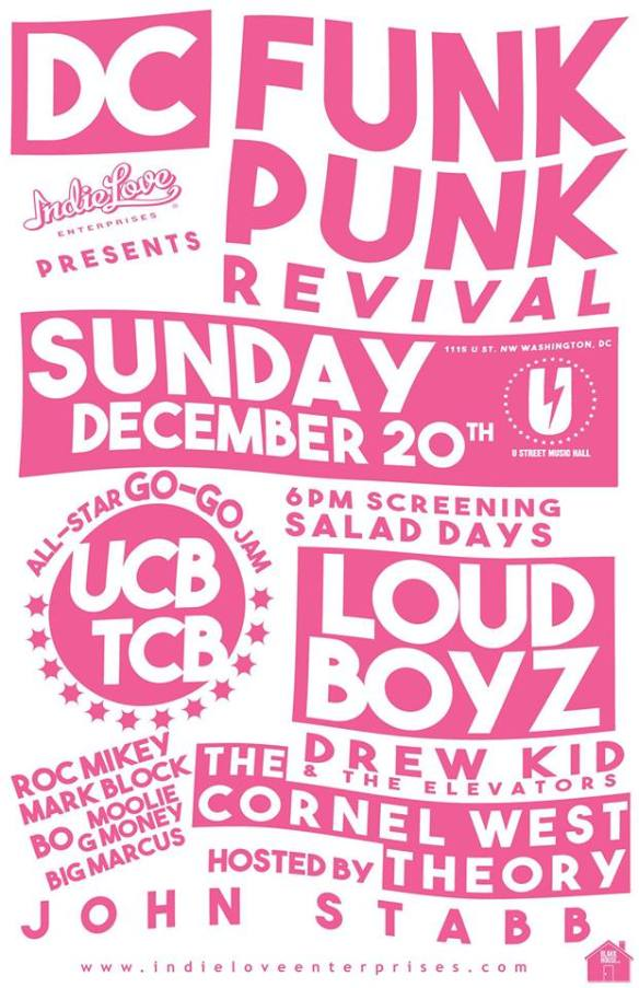 DC Funk/Punk Revival at U Street Music Hall