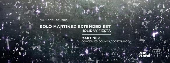 Solo Martinez Extended Set Holiday Fiesta at Eighteenth Street Lounge
