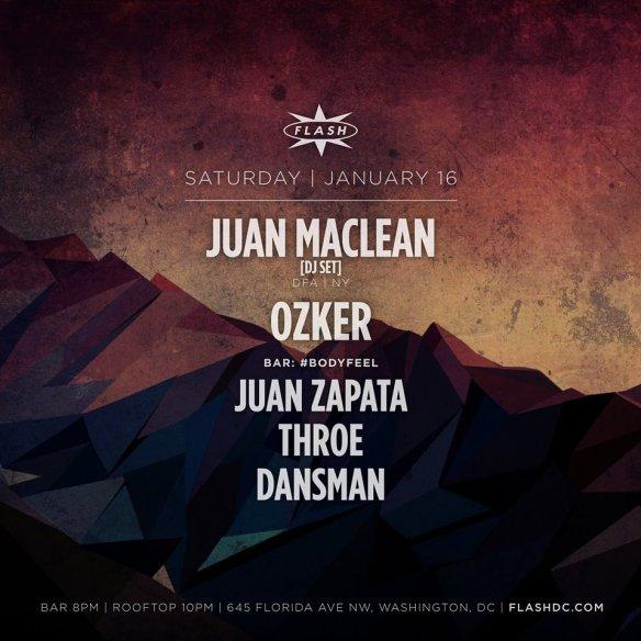 Juan Maclean at Flash