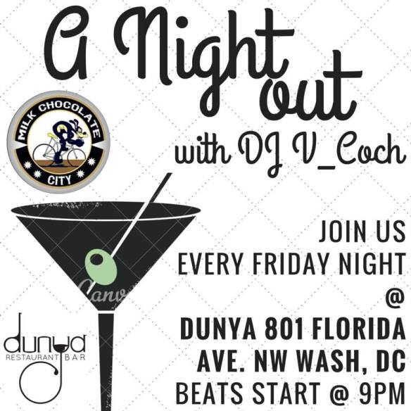 A Night Out with DJ V_COCH at Dunya
