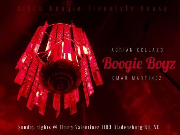 Boogie Boyz with Adrian Collazo & Omar Martinez at Jimmy Valentine's Lonely Hearts Club
