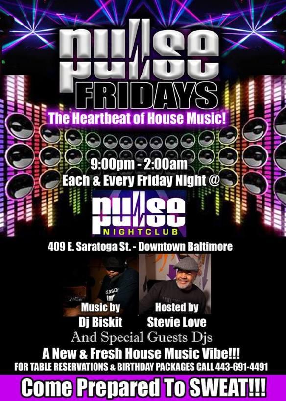 Pulse Fridays with DJ Biskit at Pulse Nightclub, Baltimore