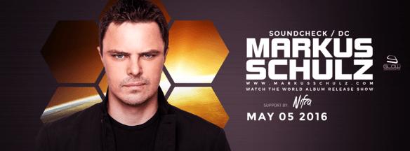 Markus Schulz Watch The World Tour at Soundcheck