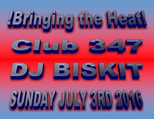 Bringing the Heat!! The 4th of July Session with DJ Biskit at Club 347, Baltimore