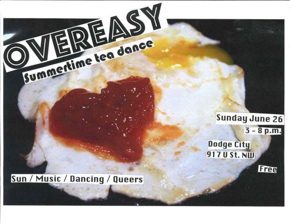 Overeasy Tea Dance June with abs0lutelyfabul0us (fka DJ Abichula), DJ Rosie and Vanniety Kills at Dodge City