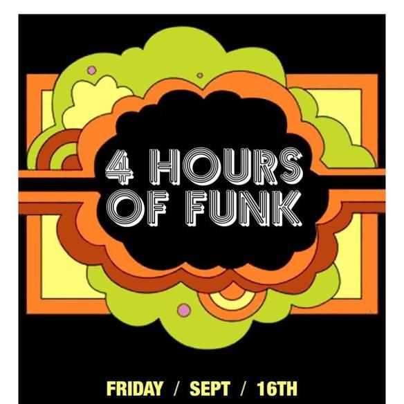 4 Hours Of Funk W. Jamie 3:26 Graham Hatke & Dj Fleg at The Windup Space