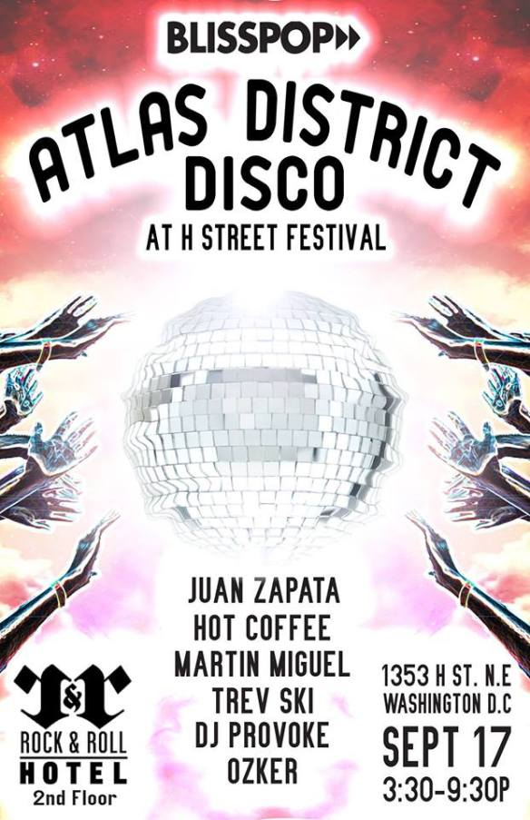 Blisspop Presents: Atlas District Disco at Rock and Roll Hotel