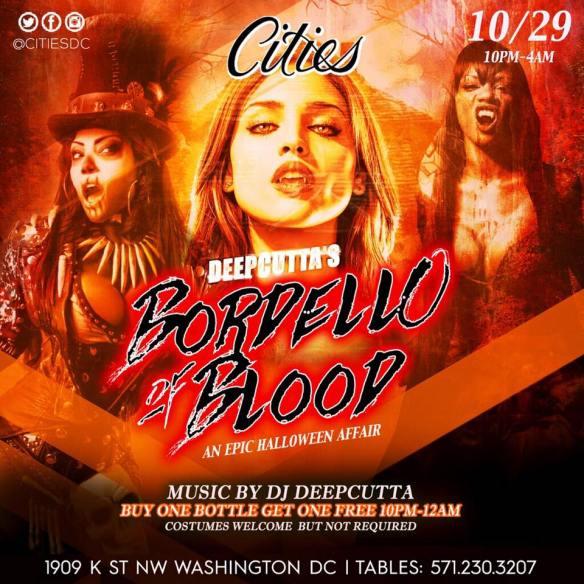 DeepCutta's Bordello of Blood - An Epic Halloween Affair at Cities