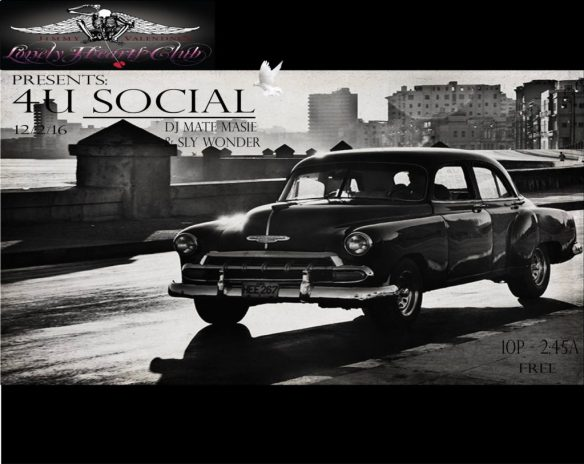 4U Social (House edition) with Dj Mate Masie & Sly Wonder at Jimmy Valentine's Lonely Hearts Club