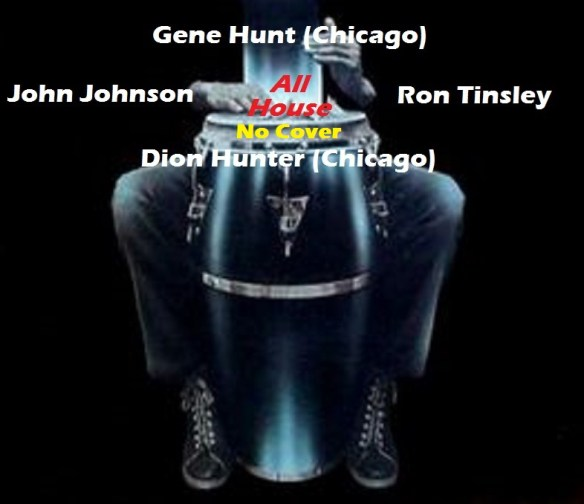 Night Gruuvs with Gene Hunt, Dion Hunter, John Johnson and Ron Tinsley at The Crown, Baltimore