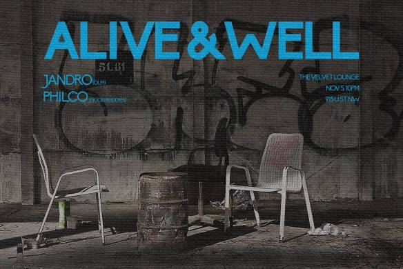 Alive & Well with Jandro & Philco at The Velvet Lounge