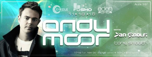 Andy Moor with Dan Ginolfi and Tony Smooth at Eden Nightclub