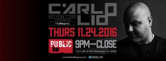 Carlo Lio with Mina & Oliver Caine at Public Bar