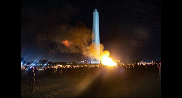 Catharsis on the Mall: A Vigil for Healing