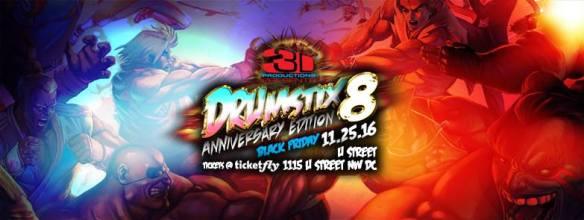 3D Productions presents Drumstix 8 at U Street Music Hall