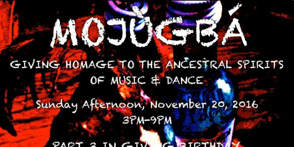 Mojùgbá: Giving Homage To Ancestral Spirits of Music & Dance at Appioo African Bar & Grill