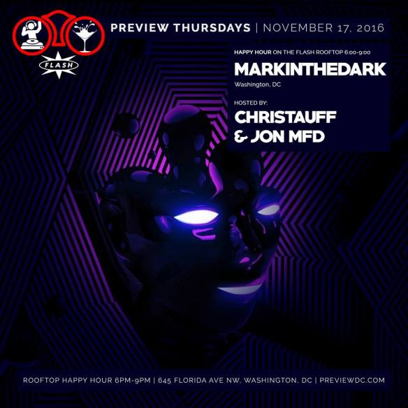 Preview Rooftop Happy Hour with markintheDark