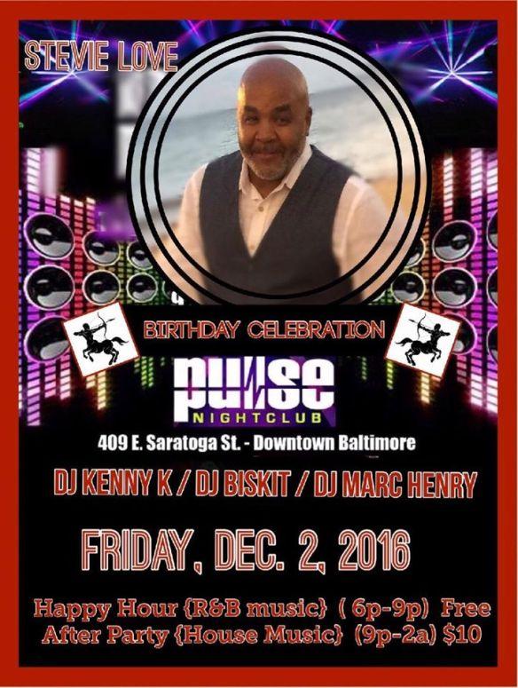 Pulse Fridays with DJ Kenny K, DJ Biskit & DJ Marc Henry at Pulse Nightclub, Baltimore