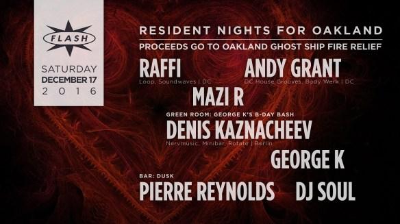 Resident Nights at Flash