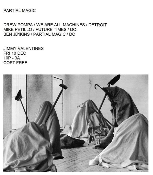 Partial Magic (Birthday EXTRAvaganza) with Drew Pompa, Mile Petillo and Ben Jenkins at Jimmy Valentine's Lonely Hearts Club