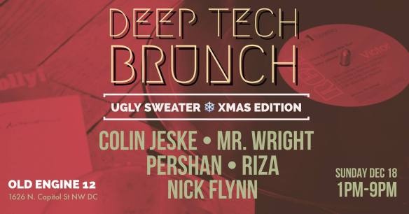 Deep Tech Brunch III with Colin Jeske, Mr Wright, Pershan, Riza & Nick Flynn at Old Engine 12