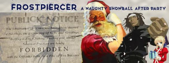 Frostpiercer: a the naughty snowball after party at 300 Morse Street