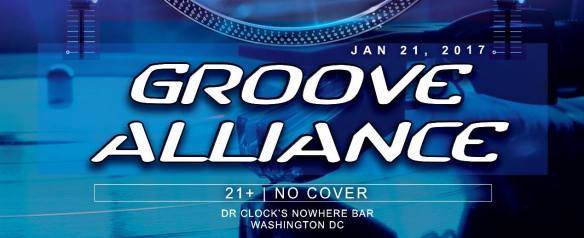 Groove Alliance with Data Drop, InnoVadar, J. Milly, Tim Humphrey and Rick Next Door at Dr Clock's Nowhere Bar