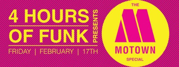 4 Hours Of Funk Motown Special with DJ Flag & Graham Hatke at The Windup Space, Baltimore4 Hours Of Funk Motown Special with DJ Flag & Graham Hatke at The Windup Space, Baltimore