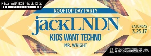 Day Party with jackLNDN, Kids Want Techno & Mr Wright at Flash