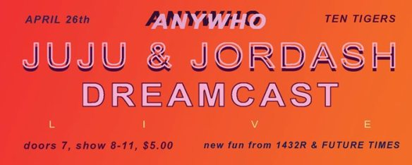 anywho juju jordash dreamcast