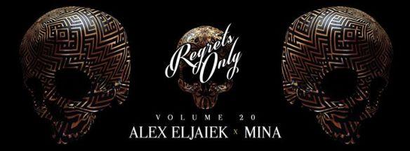 Regrets Only Vol. 20 with Alex Eljaiek & Mina at Ten Tigers Parlour