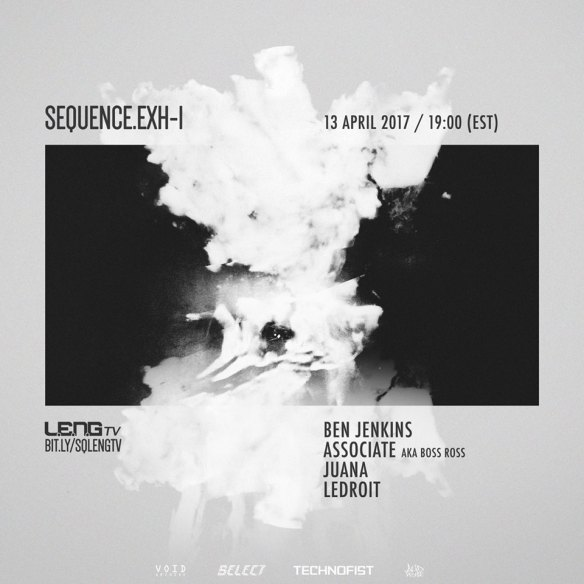 SEQUENCE.ExH-1 with Ben Jenkins, Associate aka Boss Ross, Juana & LeDroit - Live Stream on L.E.N.G. TV