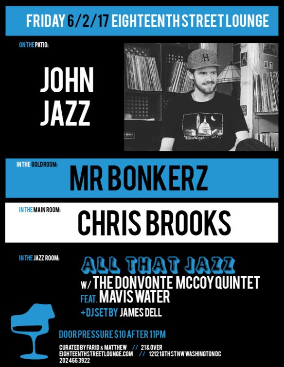ESL Saturday with Mr Bonkerz, Double A, Conscious Contact & Adrian Collazo at Eighteenth Street Lounge