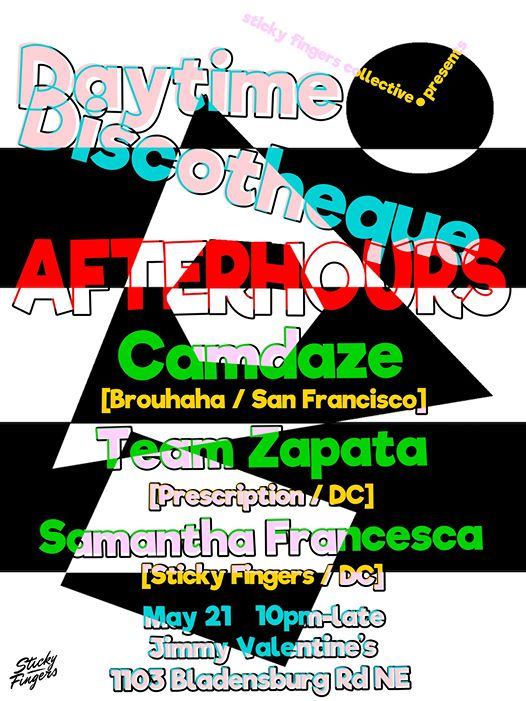 Discothèque After-Hours with Camdaze, Team Zapata & Samantha Francesca at Jimmy Valentine's Lonely Hearts Club