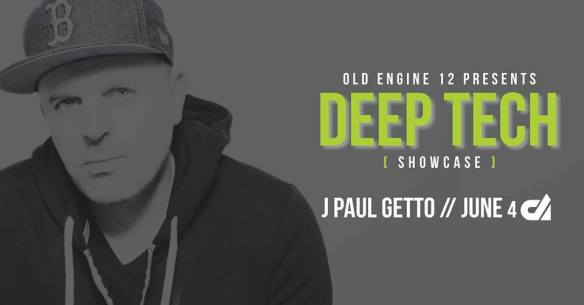 Deep Tech X: J Paul Getto with District & Circle, DJ Meegs, Sean Strange, Dial 8, Oamr b2b Zamkov & Pershan at Old Engine 12
