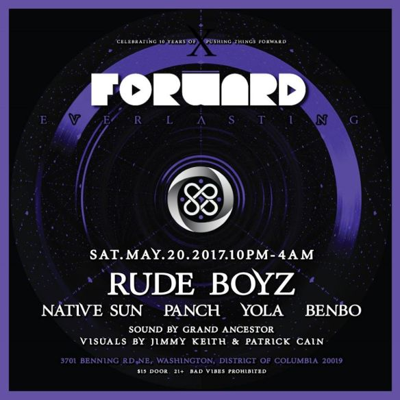 Forward, LENG, & GA present Gqom with RudeBoyz, Native Sun, Panch, Yolo & Benbo at The DC Eagle