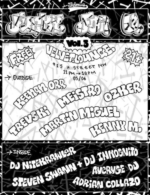 Funky For U: Volume 3 with Keenan Orr, Trevski, Meistro, Ozker, Martín Miguel, Kenny M, DJ Nitekrawler, Steven Swann & DJ Inkognito, Avervge DJ & Adrian Collazo at Velvet Lounge