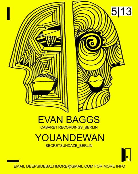 Kowli presents Evan Baggs & Youandewan at Secret Location, Baltimore