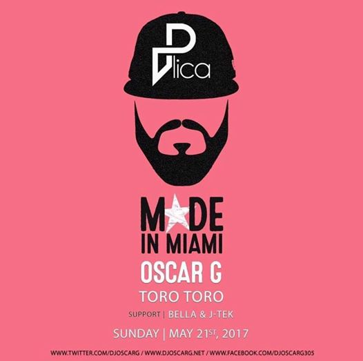 Plica Presents Oscar G. (Made In Miami) with Bella & J-Tek at Toro Toro DC