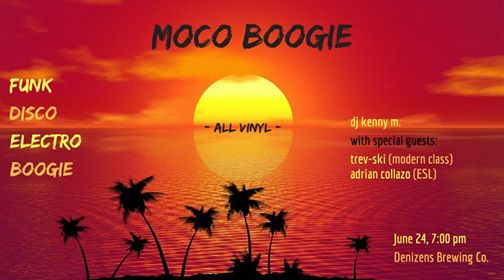 MoCo Boogie with DJ Kenny M, Trev-ski & Adrian Collazo at Denizens Brewing Company, Silver Spring