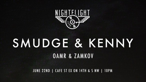 NightFlight with Smudge and Kenny at Cafe Saint Ex