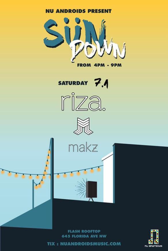 SunDown: Riza, MLEM, Makz at Flash