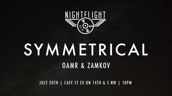 Nightflight with Symmetrical at Cafe Saint Ex