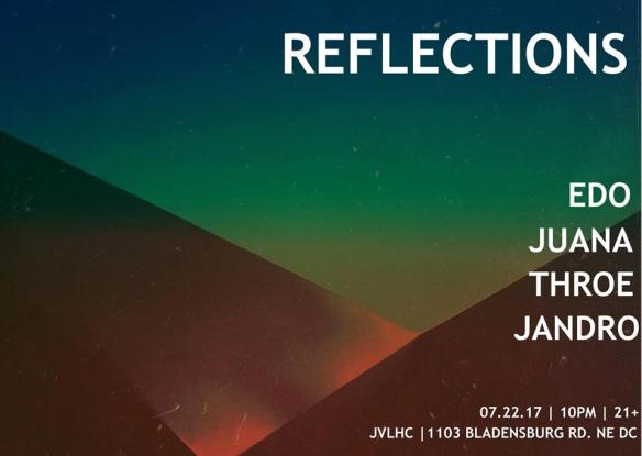 Reflections with Edo, Juana, Throe and Jandro at Jimmy Valentine's Lonely Hearts Club