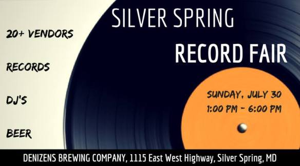 Silver Spring Record Fair with Bobby Bobson, León City Sonds, Kenny M, Adrian Collazo, Vicente Gutierrez, Mikie Love & Trev-ski at Denizens Brewing Company, Silver Spring