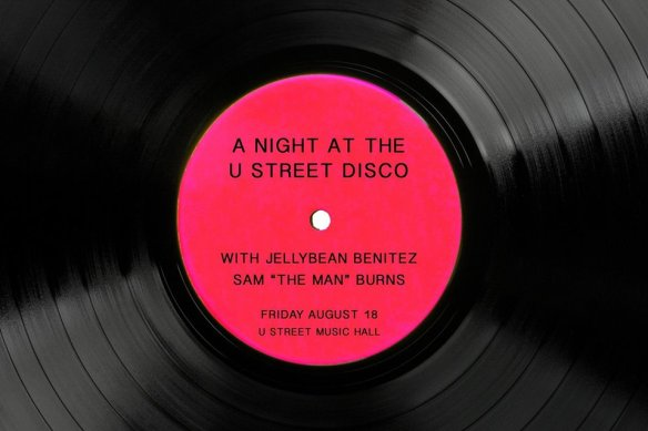 A Night At The U Street Disco with Jellybean Benitez & Sam Burns at U Street Music Hall