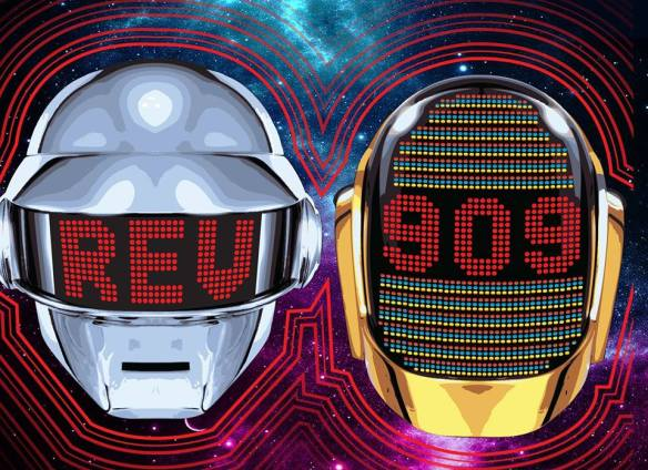 Rev909: Daft Punk/French House Tribute and Indie Dance Classics with Will Eastman, Ozker & Visuals by Capsaicin at U Street Music Hall
