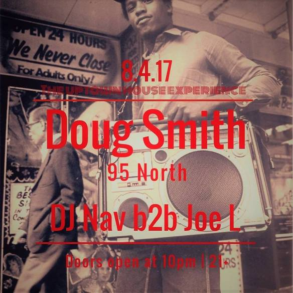 The Uptown House Experience with Doug Smith (95 North) and DJ Nav B2B Joe L at Jimmy Valentine's Lonely Hearts Club